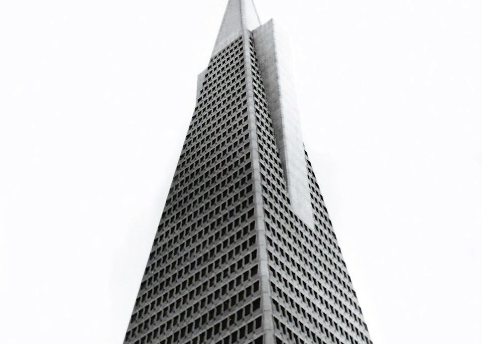 Transamerica Pyramid Photography Art | David Louis Klein