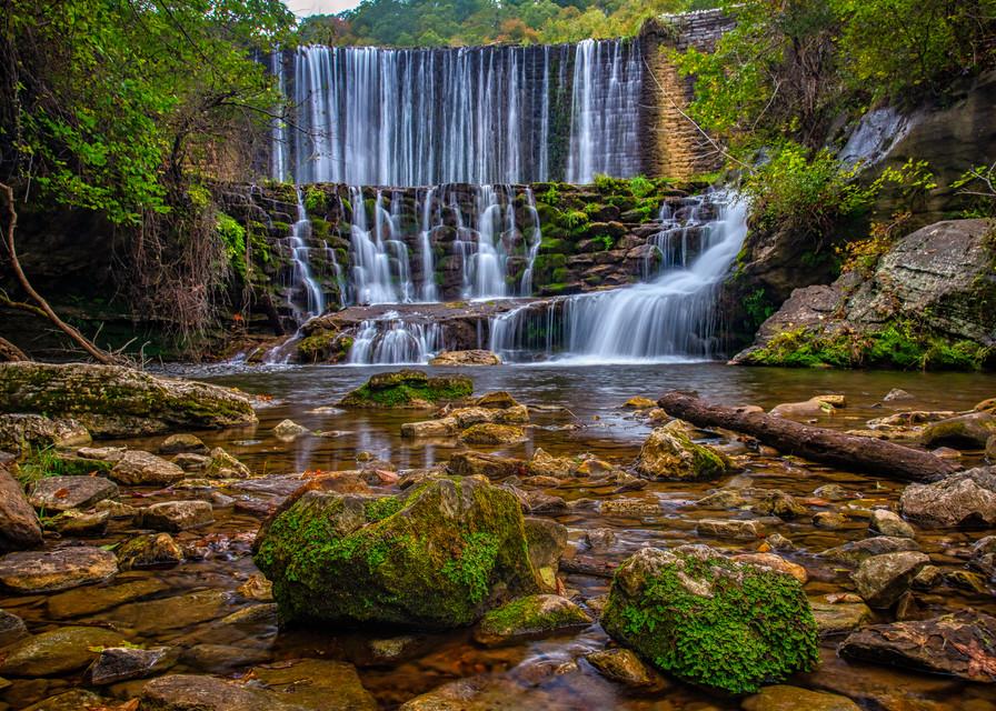 Mirror Lake waterfall - Arkansas fine-art photography prints
