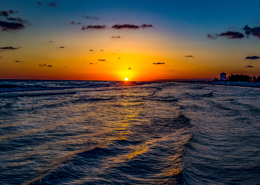 Siesta Sunset  Photography Art | jimhooverphoto