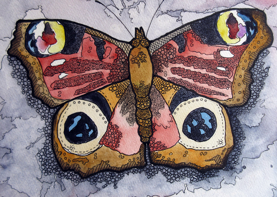 Red/Brown Butterfly