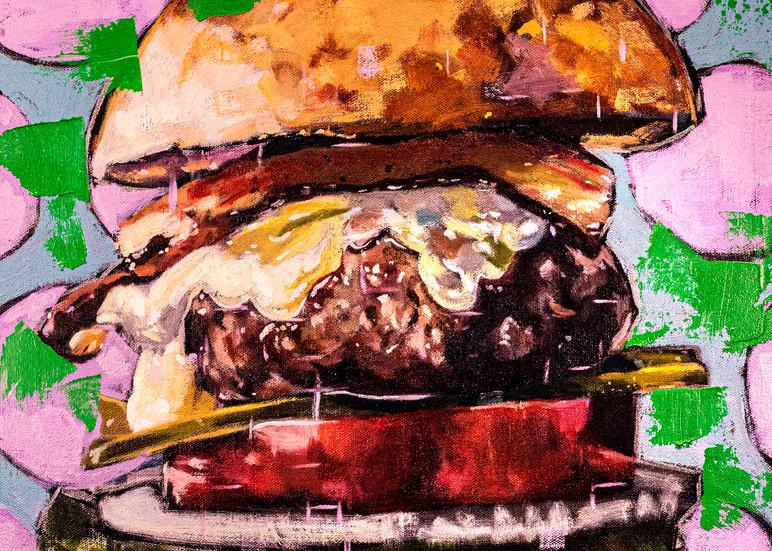 High Definition Idk Burger  Art | Matt Pierson Artworks