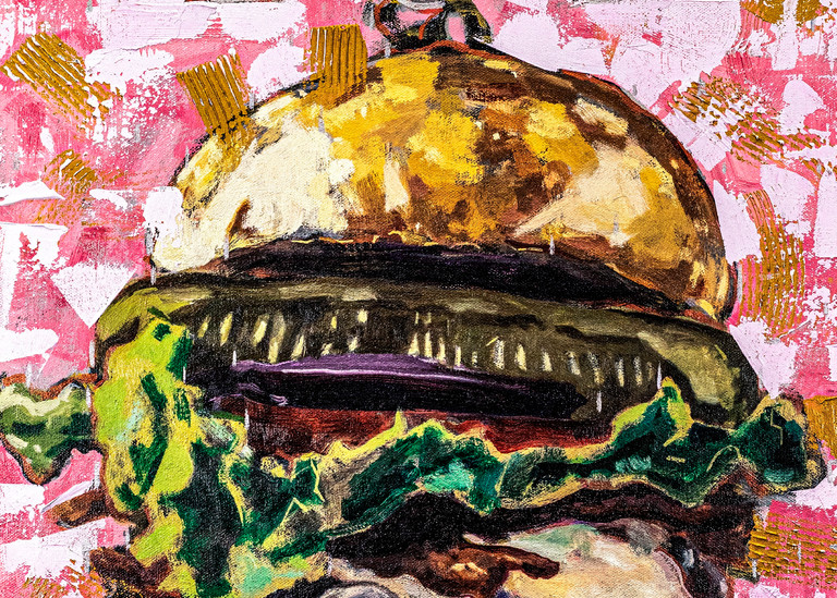 High Definition Lol Burger Art   Matt Pierson Artworks
