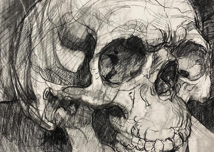 Skull V.2 Art | Matt Pierson Artworks