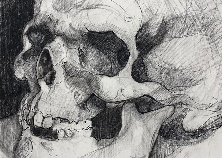 Skull V.3 Art | Matt Pierson Artworks