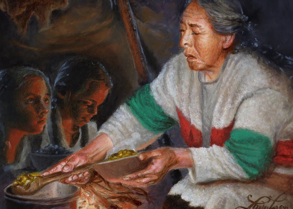 Winter Meal Art | James Loveless Art