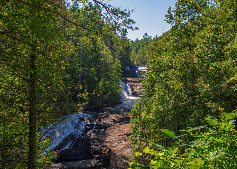 Photograph of Triple Falls in Dupont State Forest