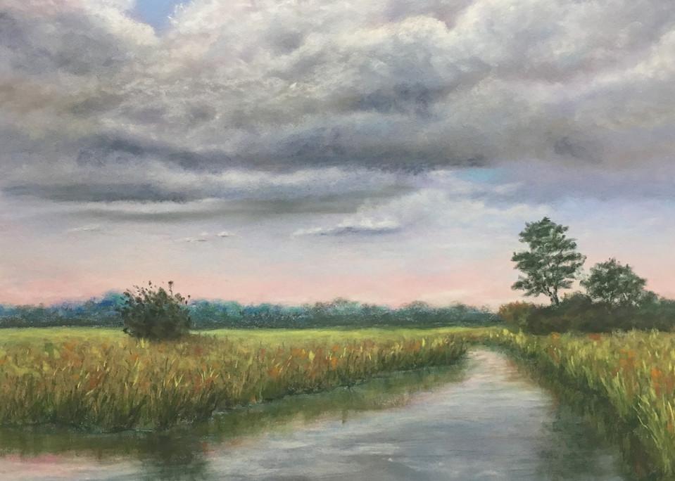 Marsh Reflections Art | Mark Grasso Fine Art