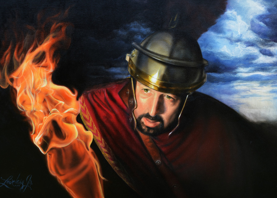 The Centurion Art | James Loveless Art