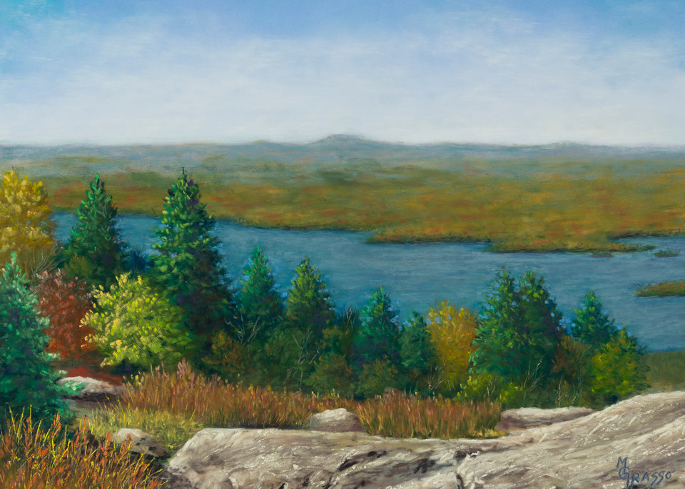Mountaintop Autumn Grandeur Art | Mark Grasso Fine Art