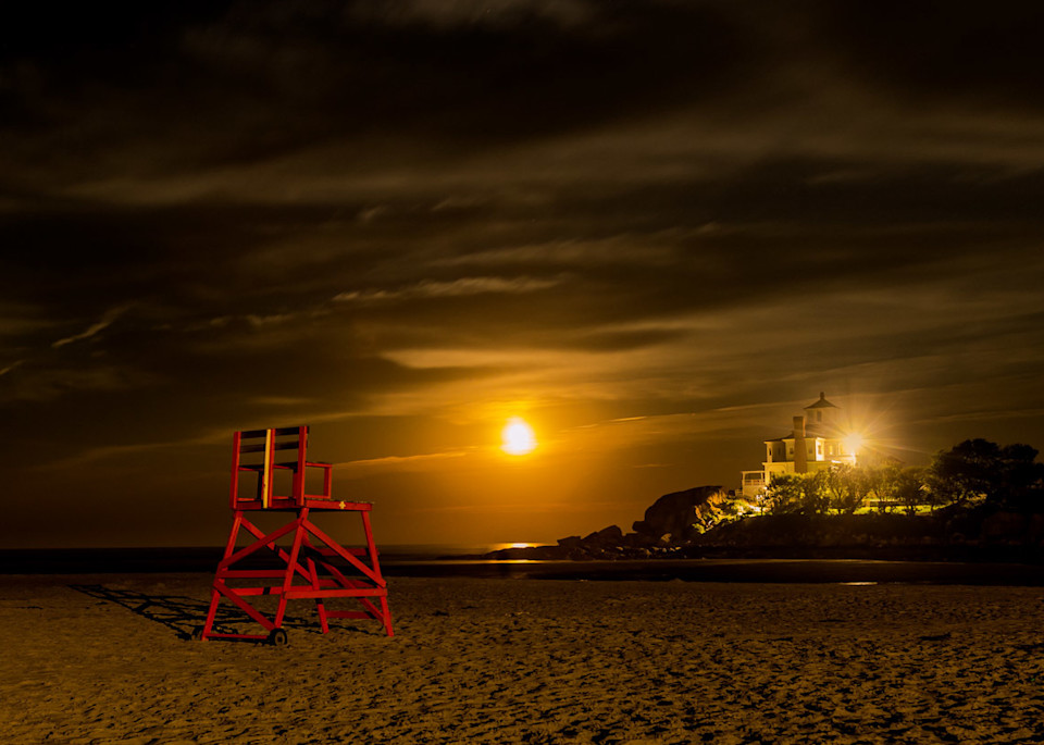 Strawberry Moon  Art | capeanngiclee