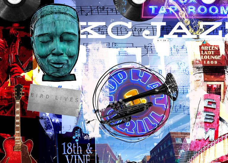 Kansas City Jazz   A Night Out  Art | John Knell: Art. Photo. Design