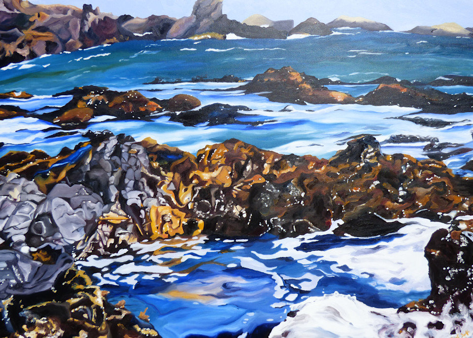 Coastal Pools painting