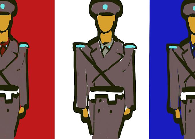 Soldiers Art | stephengerstman