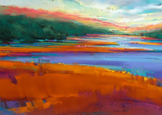 Highland Blue  Art | Michael Mckee Gallery Inc.