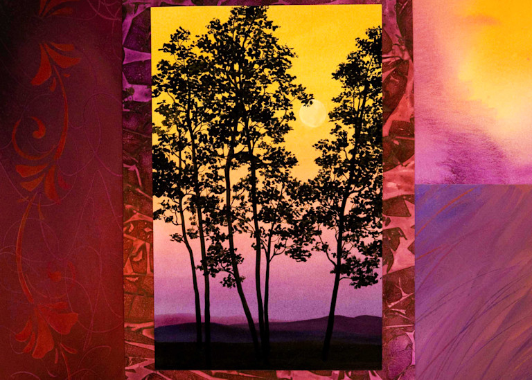 Hill Country Trees Art | House of Fey Art