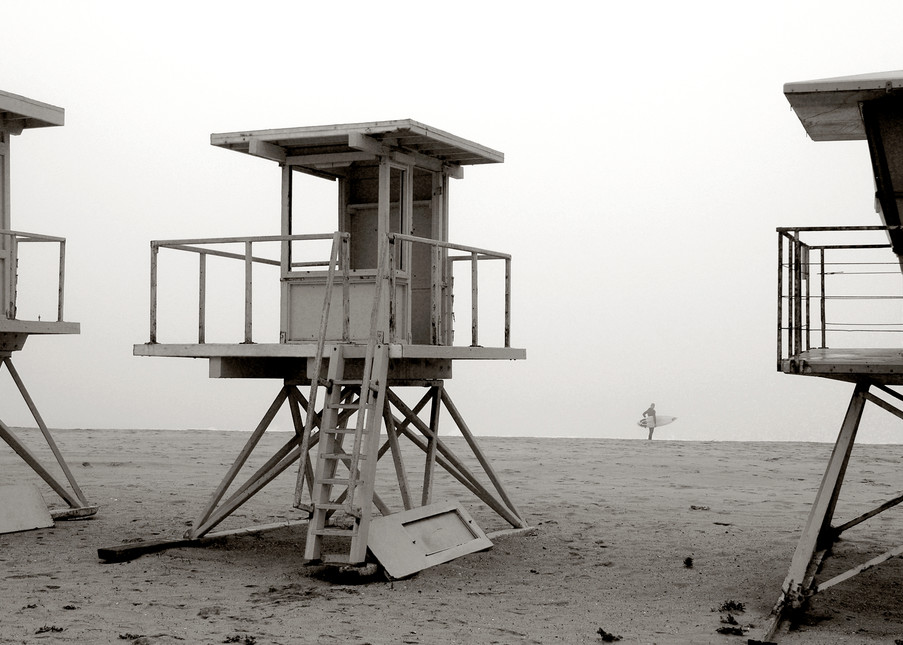 Vintage Lifeguard Stands & Surfer Art | Shaun McGrath Photography