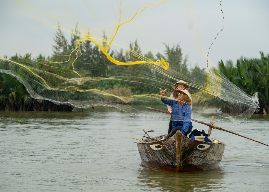 Casting The Net Photography Art | Kit Noble Photography