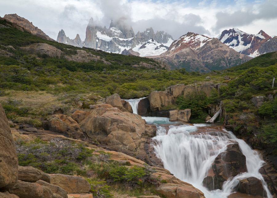 Mount Fitzroy, Patagonia #3 Photography Art   Kit Noble Photography