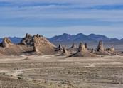 Trona Pinnacles Panorama Art   Shaun McGrath Photography