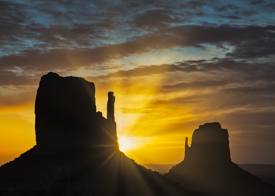 Monument Valley First Light