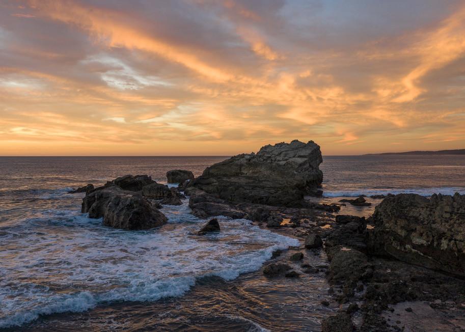 Rocky Point Sunset Photography Art | Kit Noble Photography