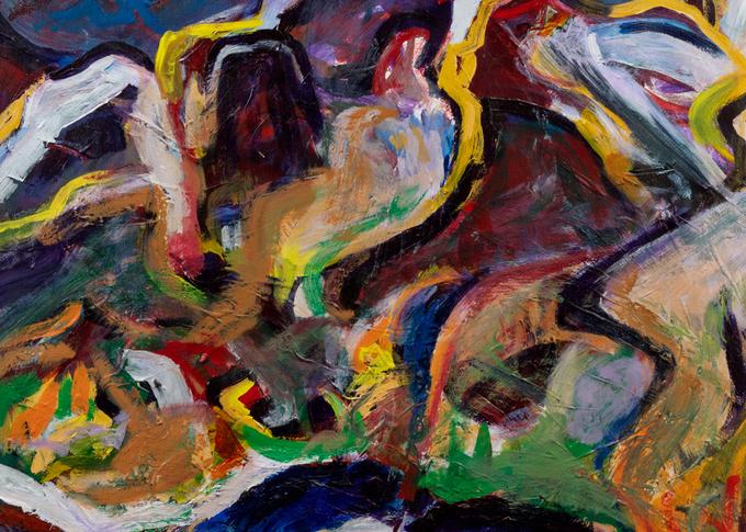 """""""Weminuche Series"""" 1 Art   Daniel Kanow Fine Art"""