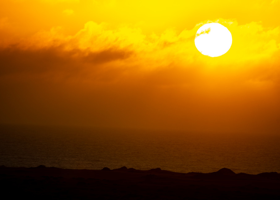 Sunset Over The South Atlantic Ocean, Namibia Art | Roost Studios, Inc.