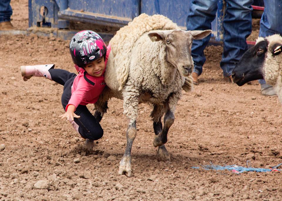 Littlest Rodeo Rider Photography Art   Dan Katz, Inc.