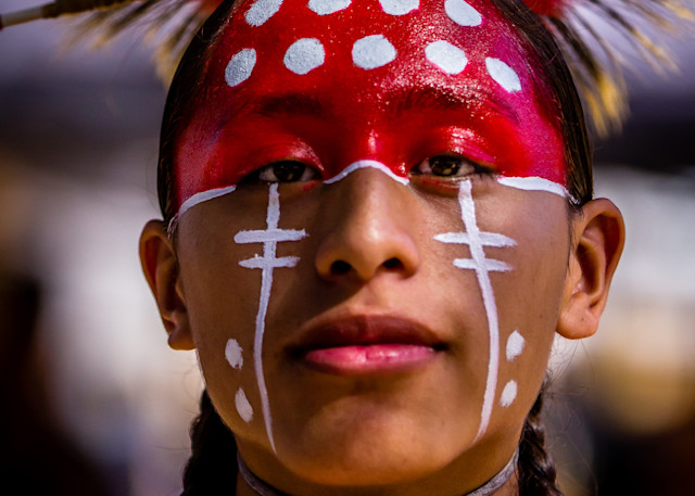 Tribal Dress Chumash Pow Wow 2017 Photography Art | Dan Katz, Inc.