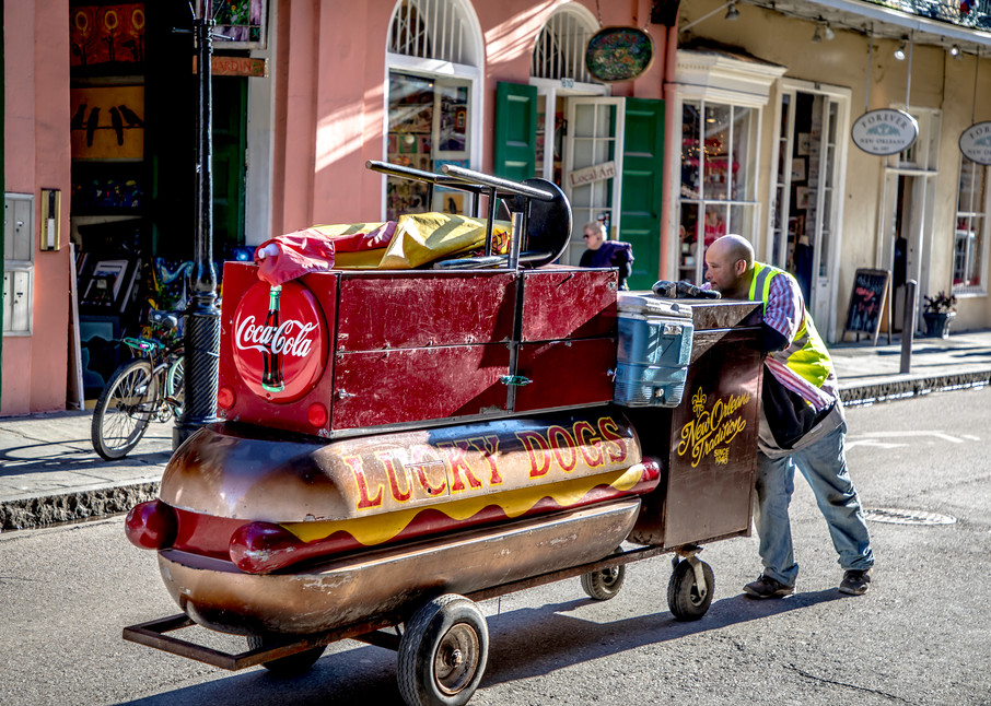 Lucky Dog New Orleans 2017 Photography Art | Dan Katz, Inc.