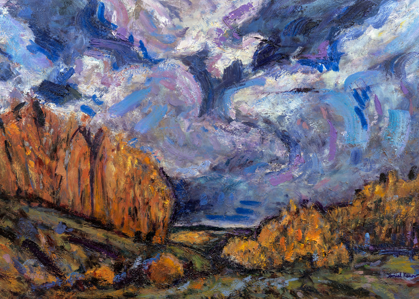 """Spiraling Chi"" Art | Daniel Kanow Fine Art"