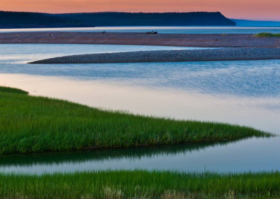 Sunset On The Bay Of Fundy Photography Art | Robert Leaper Photography