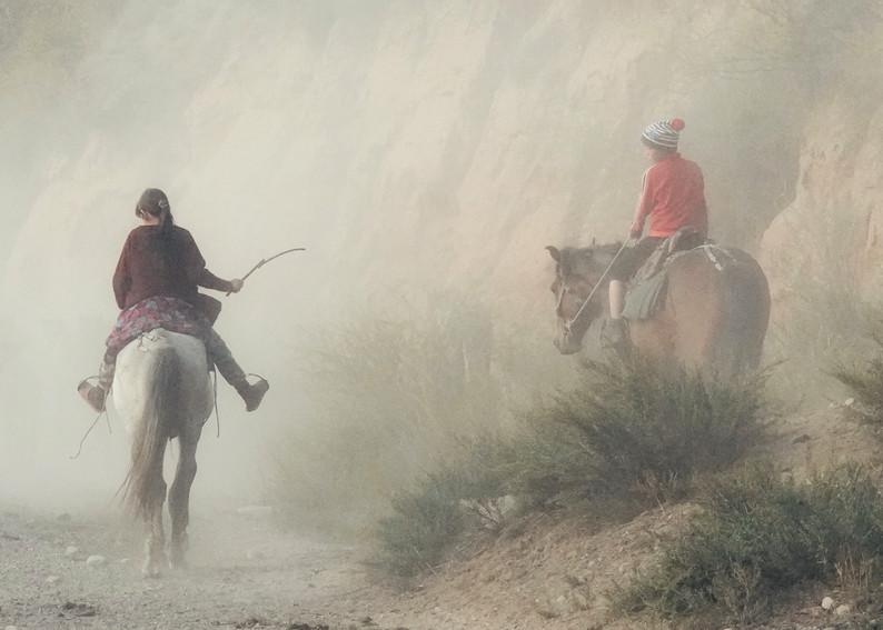 Two Shepherds Art | Danny Johananoff