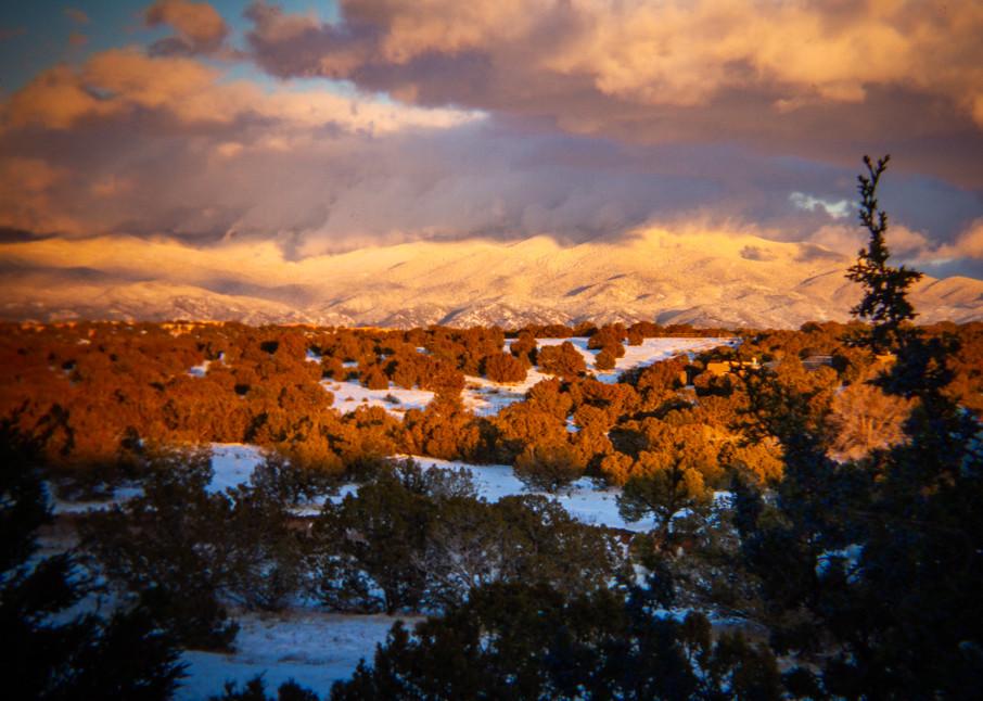 Winter Sunset, Sangre De Christo Mountains