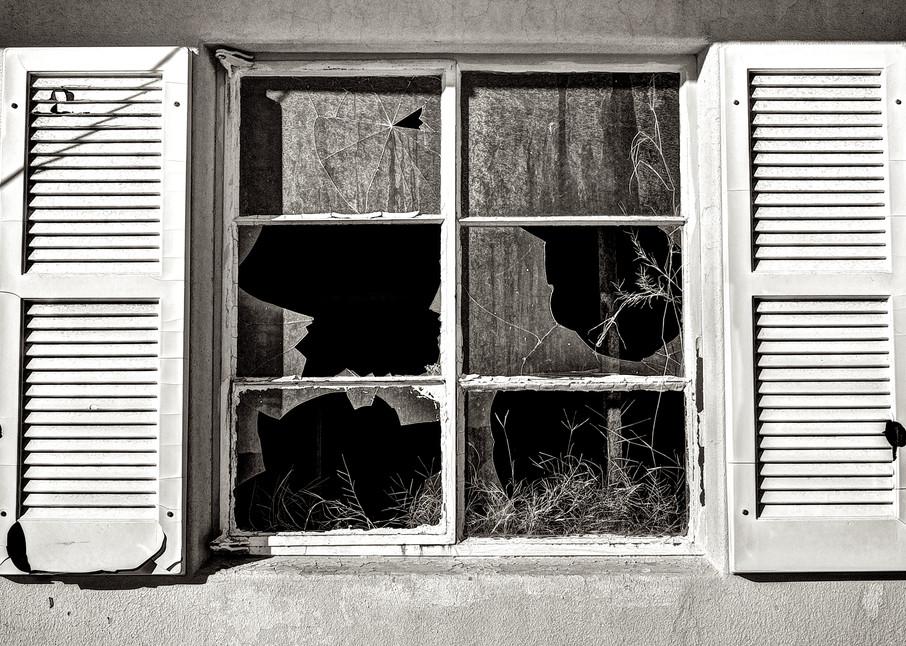 Broken Windows In Trona Art | Shaun McGrath Photography