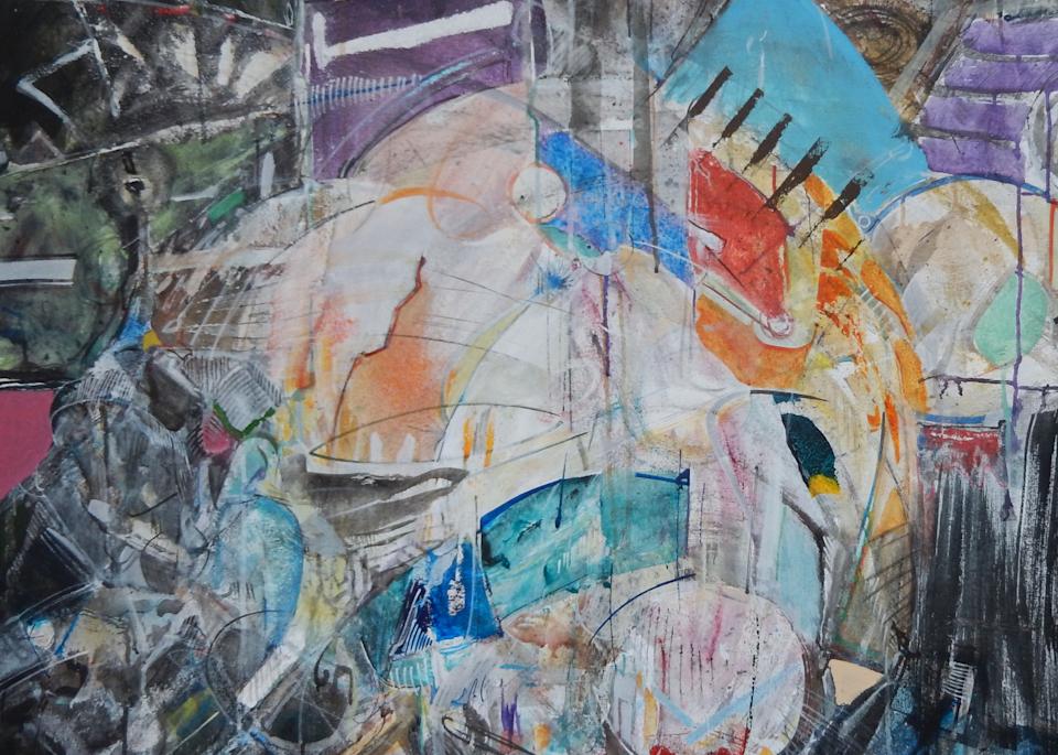 Cluster No.3 Print Art   Rick Wedel Art & Design