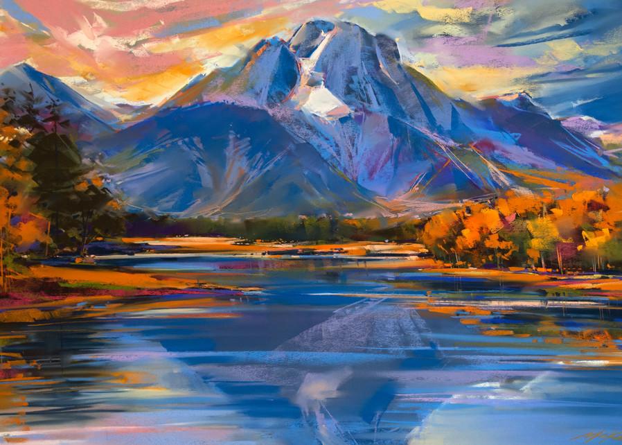 Jackson Lake Copy 1 Art   Michael Mckee Gallery Inc.