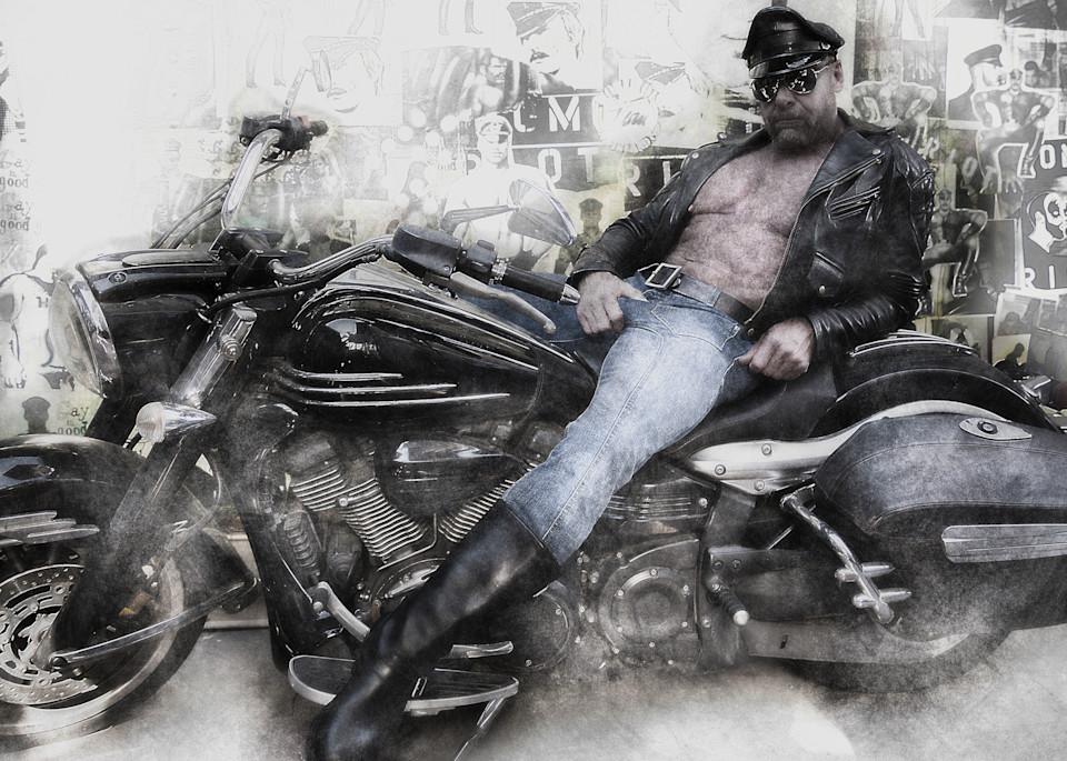Sir & Motorcycle Photography Art   Kristofer Reynolds Photography