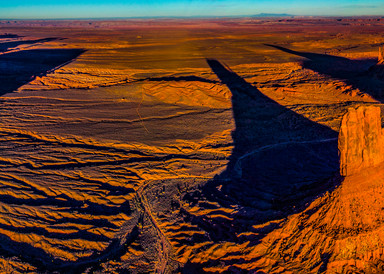 Monument Valley Aerial Panoramic Photography Art | vitopalmisano