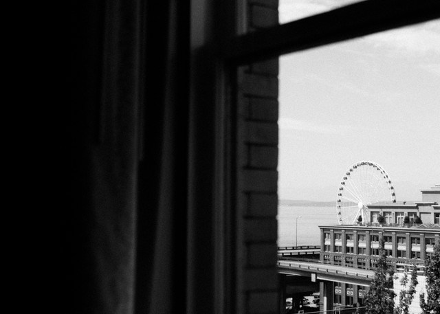 Morning View Of Seattle Photography Art | Belathée Fine Arts by Belathée Photography