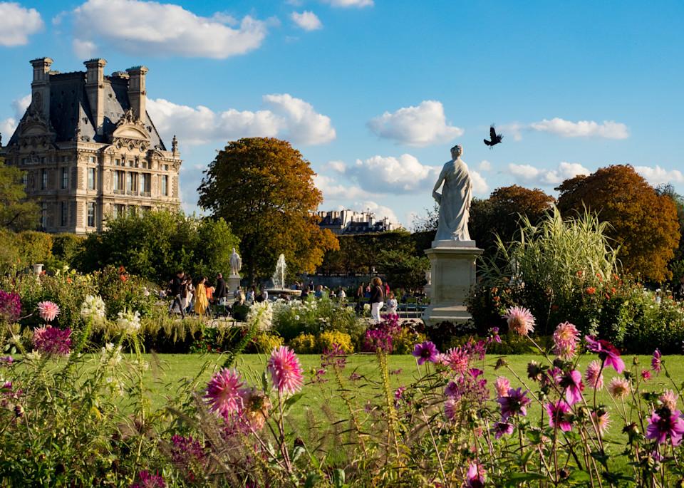 Tuileries Garden, Paris/sold by Ben Asen