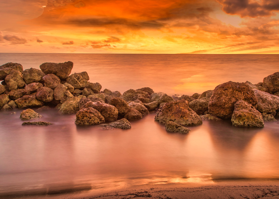Colombia Caribbean Sunset | Sunset Photography Print