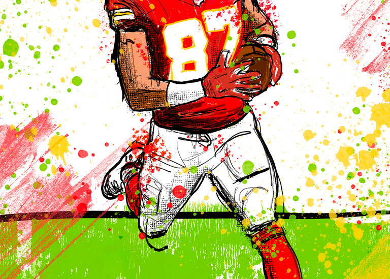 Travis Kelce, Kansas City Chiefs, Tight End