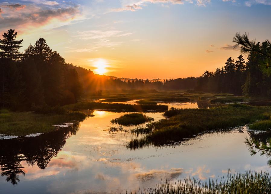 Moose River Sunset 2019 Photography Art | Kurt Gardner Photogarphy Gallery