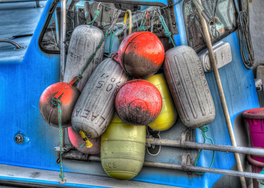 Boat Bumpers Photography Art   Michael Scott Adams Photography