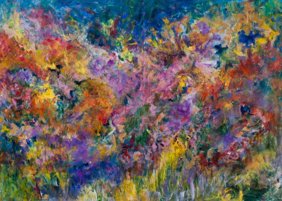 """Flowers At Dawn"" Art | Daniel Kanow Fine Art"