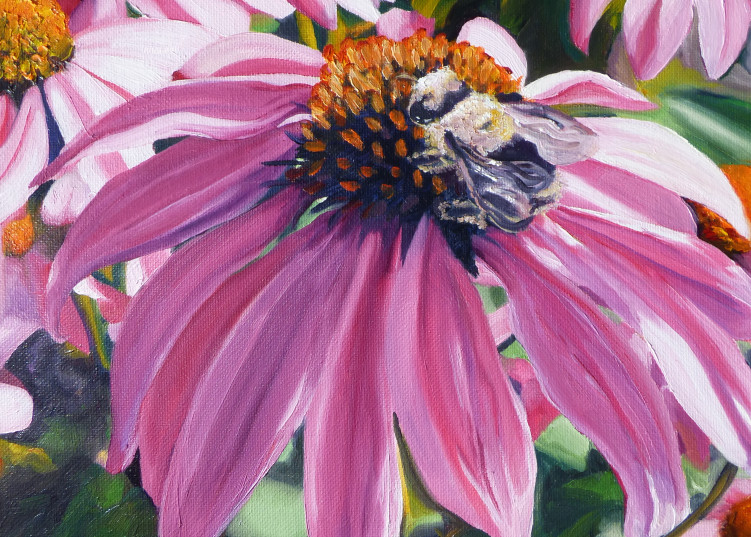 Bee Conscious painting