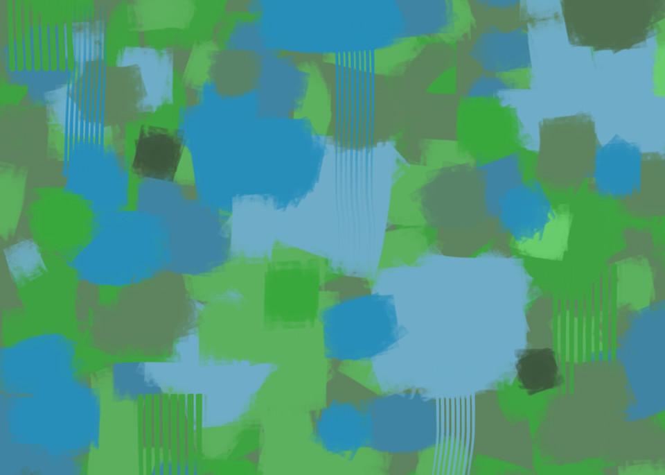 High Chroma Abstract 2 Art | Matt Pierson Artworks