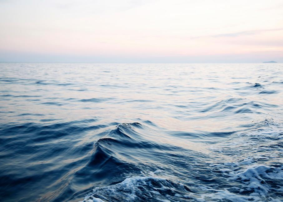 Waves At Dusk  Photography Art   Belathée Fine Arts by Belathée Photography