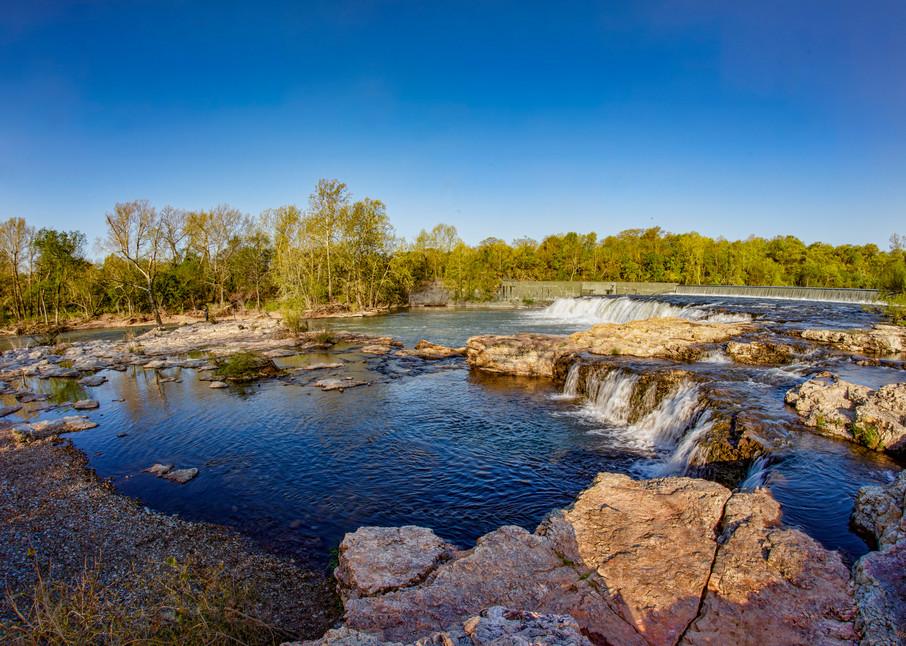 Grand Falls Waterfall Joplin Missouri 9533   Photography Art | Koral Martin Healthcare Art